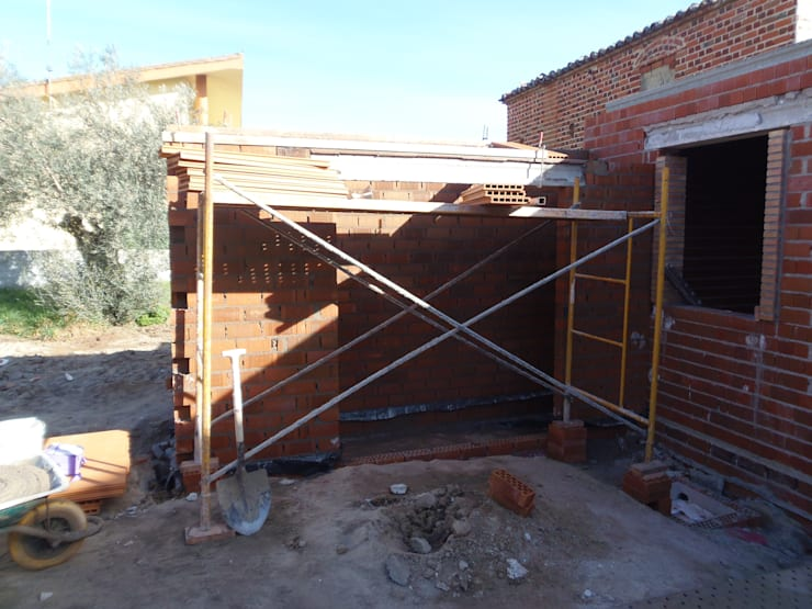 Projekty,  Domy zaprojektowane przez TU REFORMA EN MADRID