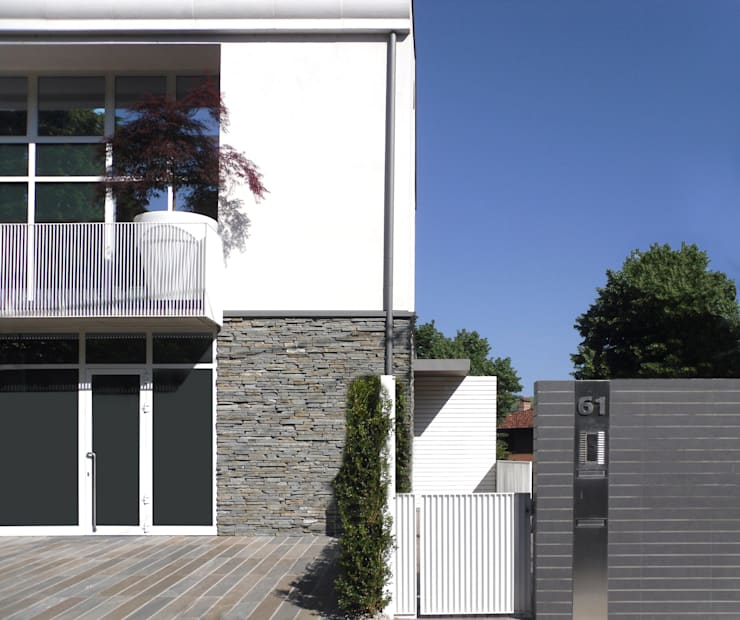 Houses by Gariselli Associati