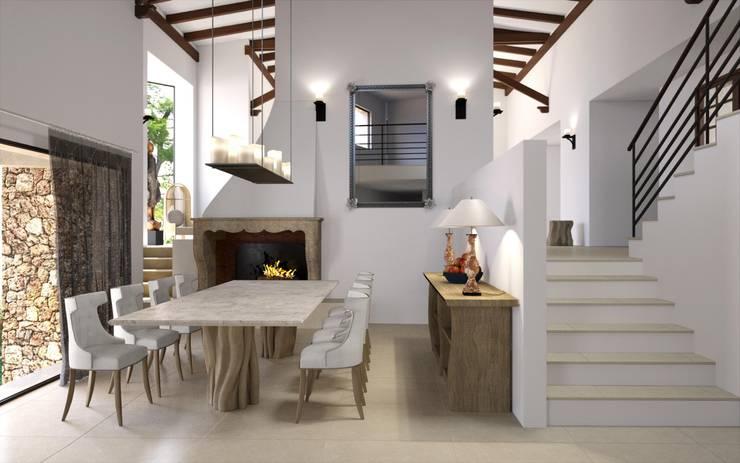 Proyecto 3D: Comedores de estilo  de Realistic-design