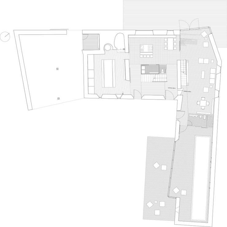 Planta baja rehabilitada: Casas de estilo  de EM_DEPLO
