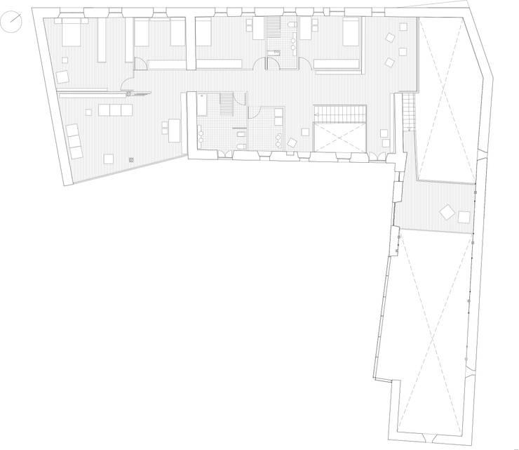 Planta primera rehabilitada: Casas de estilo  de EM_DEPLO