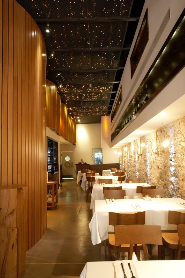 CAL XIM: Locales gastronómicos de estilo  de Piedra Papel Tijera Interiorismo