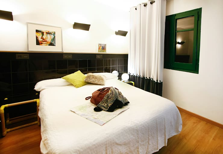 Hôtels de style  par Piedra Papel Tijera Interiorismo