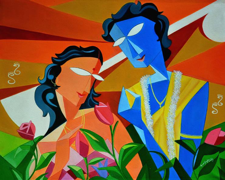 Sree Raag With Ragini Malasree. :  Artwork by Self employed artist