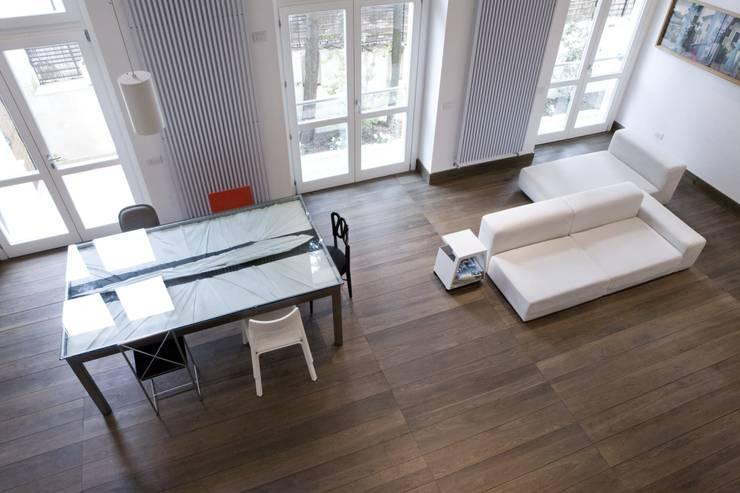 na3 - studio di architettura의  다이닝 룸