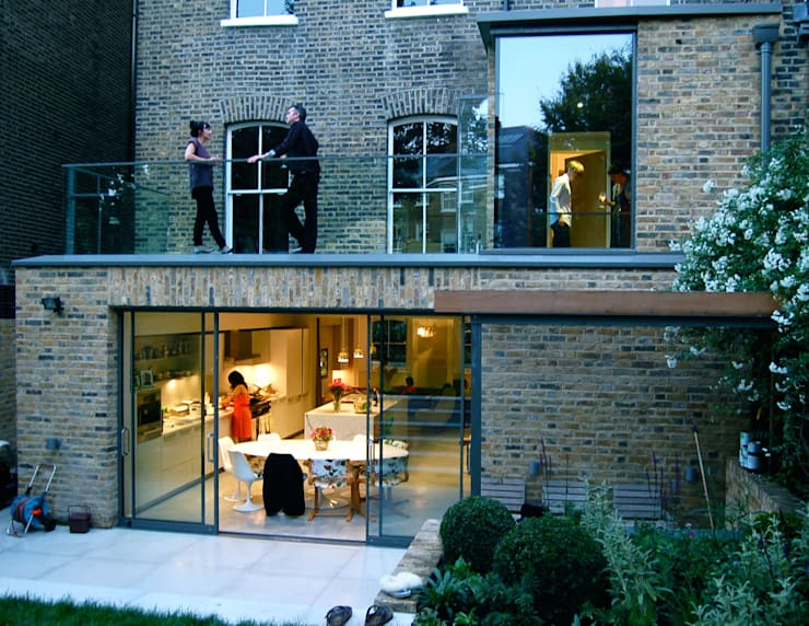 Alwyne Place, Islington:  Terrace by Emmett Russell Architects