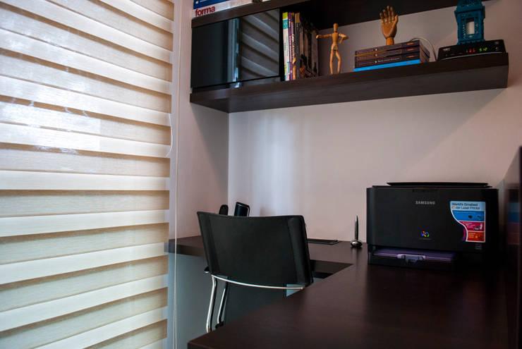 Home Office: Escritórios  por Fernanda Alonso - Arquitetura e Interiores