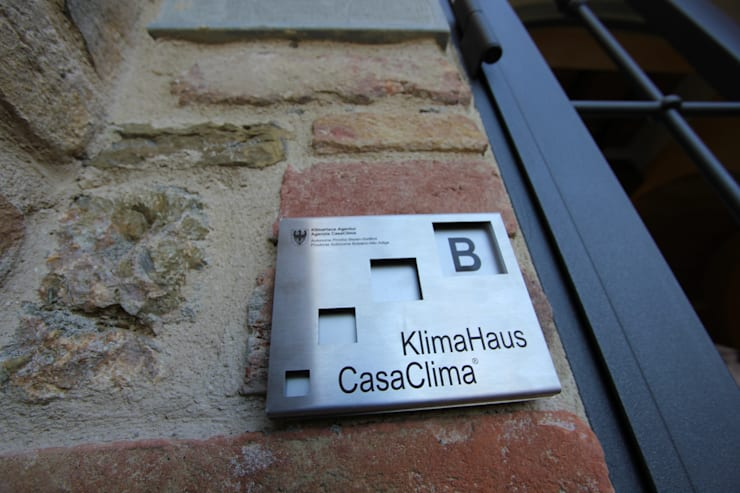 CasaClima B al Lago Trasimeno:  in stile  di BDO-3.0 | BuildingDesignOffice TrePuntoZero,