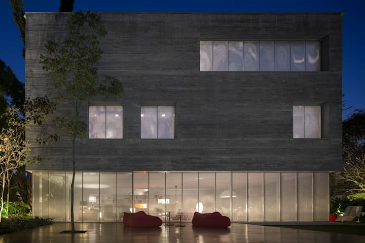 Cube House: Casas  por Studio MK27