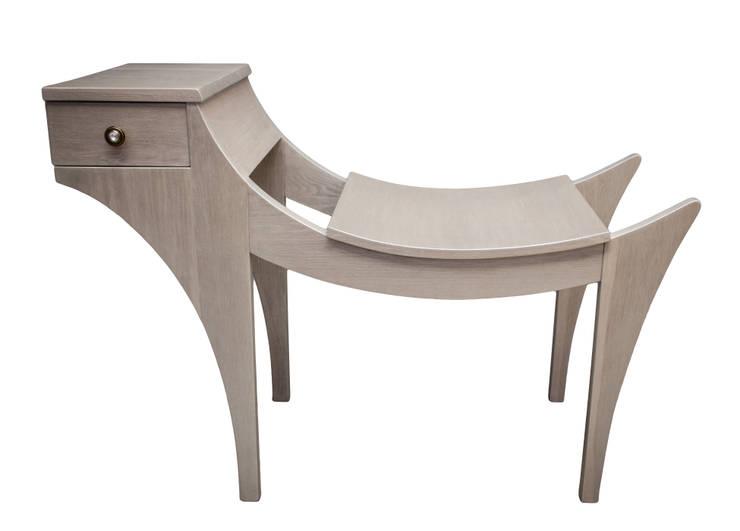 Ławka '' Gryf II '': styl , w kategorii Korytarz, hol i schody zaprojektowany przez Meble Autorskie Jurkowski