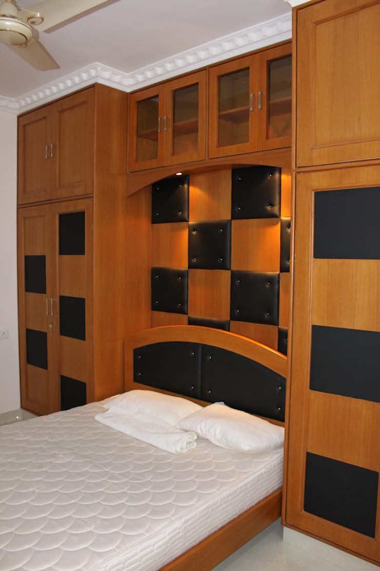 Interior Works:  Household by Fine Living Interior Designing and Furnishing Pvt Ltd
