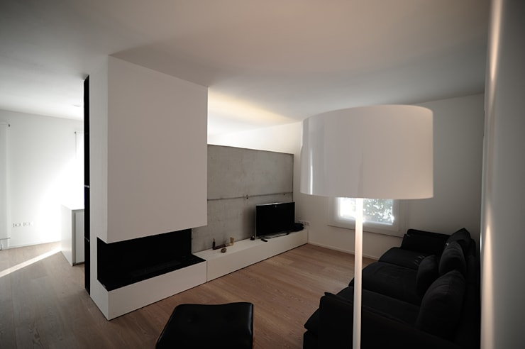 house SD: Case in stile in stile Minimalista di Didonè Comacchio Architects