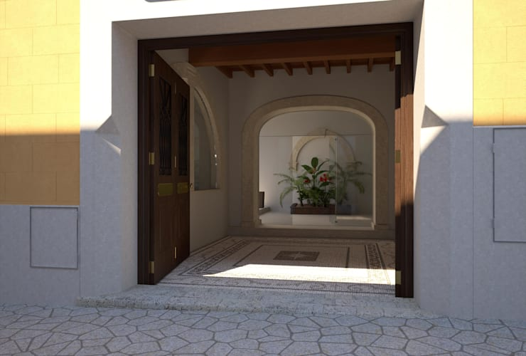 Proyecto 3D: Garajes de estilo  de Realistic-design