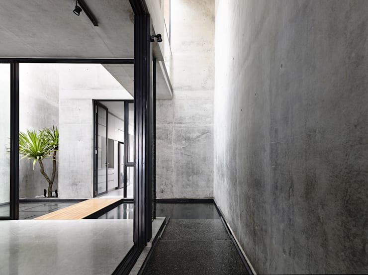 Flur & Diele von HYLA Architects