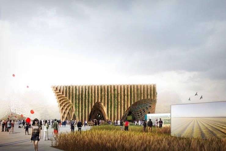 French Pavilion - Expo Milano 2015:  de style  par XTU Architects