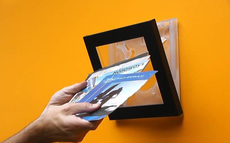 Play & Display Flip Frame For Vinyl Singles:  Artwork by Memory Box