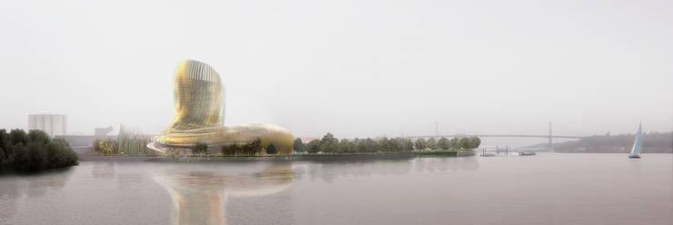 Cité des civilisations du vin :  de style  par XTU Architects