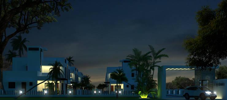BREEZE COUNTY —KUMARAKOM , KERALA , INDIA:   by CLASSIK ARCHITECTS