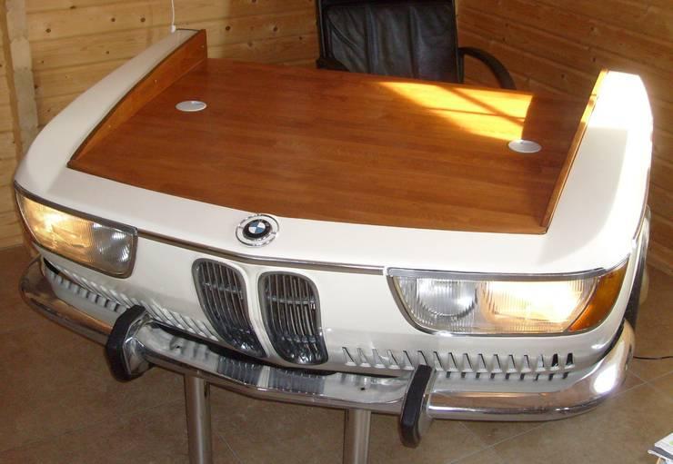 Phòng học/Văn phòng by Automöbeldesign