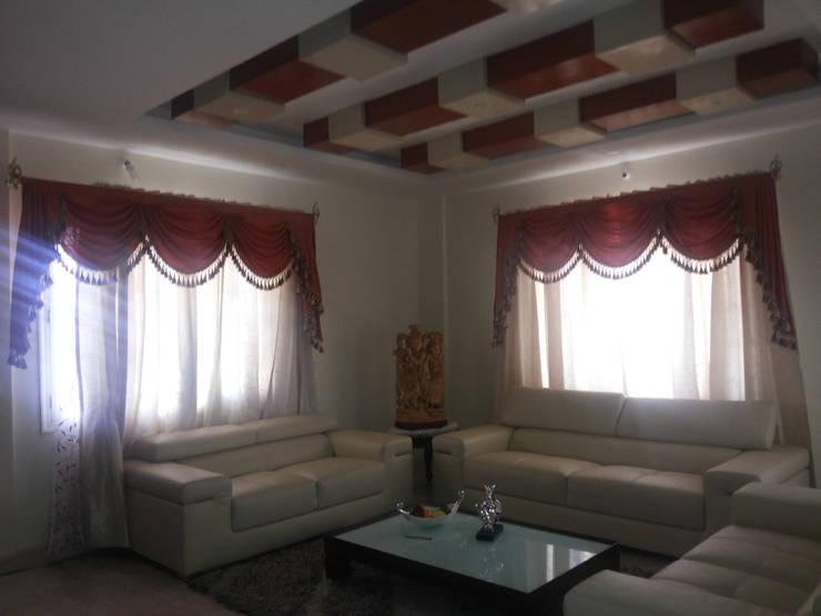Private Client At Sahakarnagar Bangalore: classic Bedroom by Arka Interio
