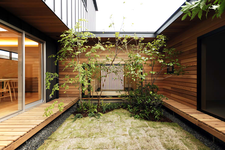 「ロノジノイエ」: GREENSPACEが手掛けた庭です。