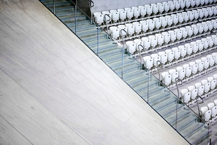 Olympic Structures:  Stadiums by Janie Airey Photographer