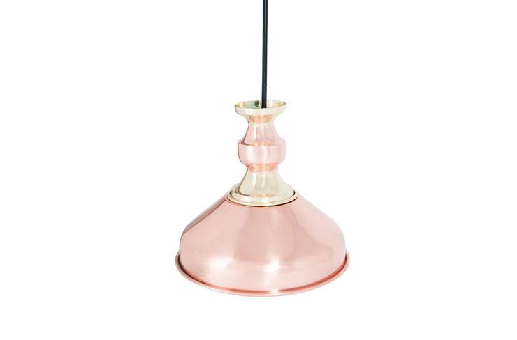 Lámpara de techo mestiza A: Cocina de estilo  por Aitorismo&cía