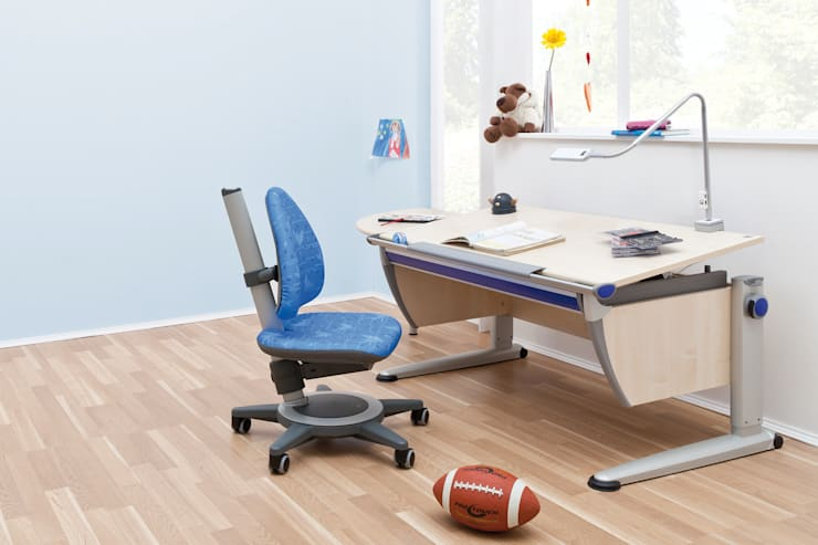 moll Children Study Rooms:  Study/office by Ergolife Pte Ltd