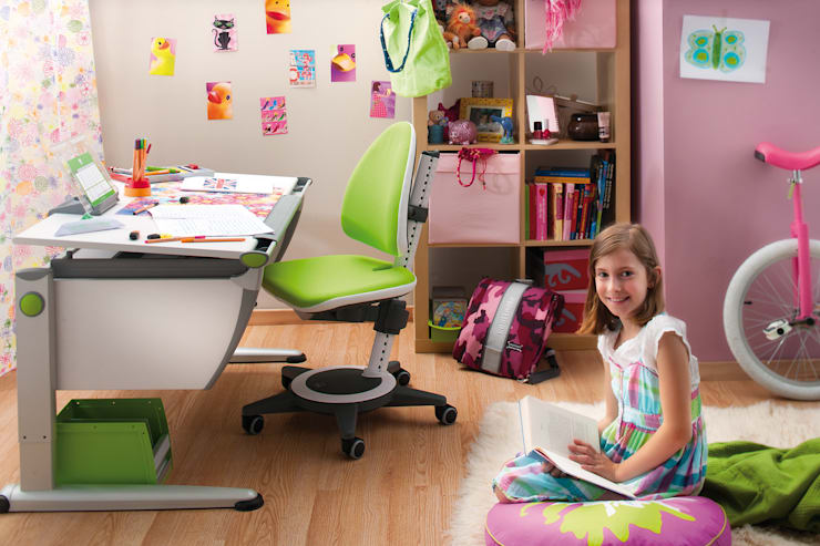 moll Runner with Maximo Chair:  Study/office by Ergolife Pte Ltd