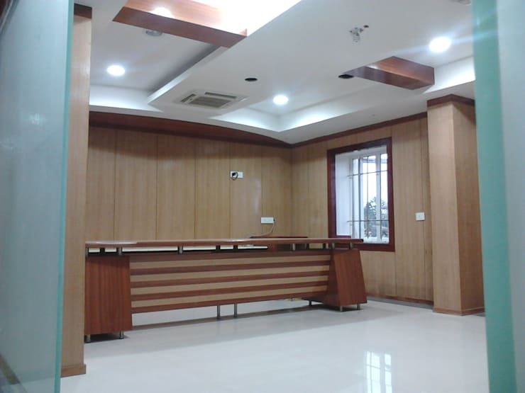 Hitech Group Corp. Office:   by NAQSHA Design Solutions