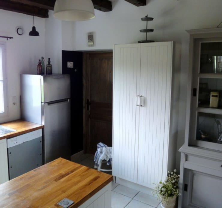 Kitchen update:  Kitchen by Hege in France
