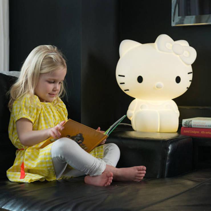 eclectic Nursery/kid's room by decoBB