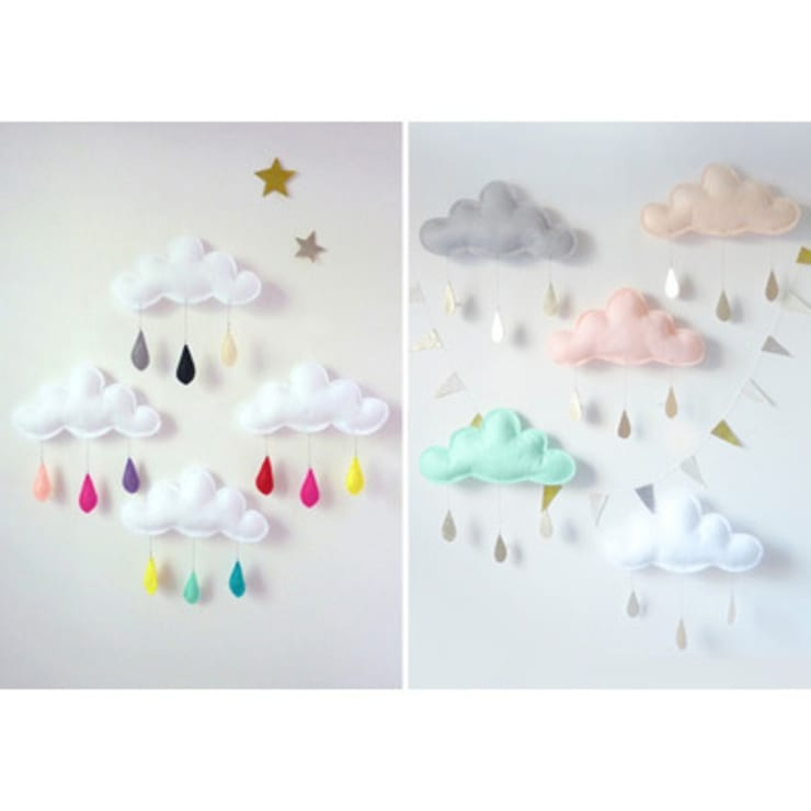 Mobiles - The Butter Flying: Chambre d'enfants de style  par decoBB