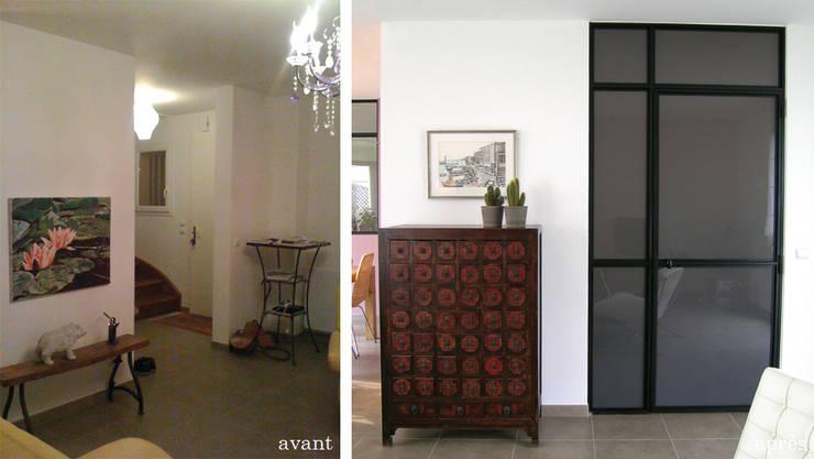 Maison <q>Atelier</q>: Maisons de style  par Harfang Decoration