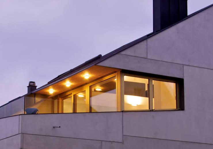Beton 2+:  Häuser von Udo Ziegler | Architekten
