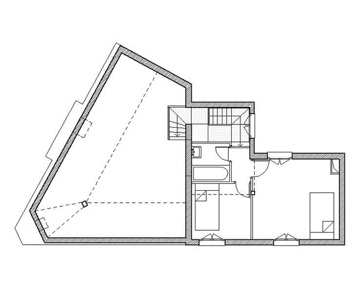 maisons 13ème - paris:  de style  par clermont architectes
