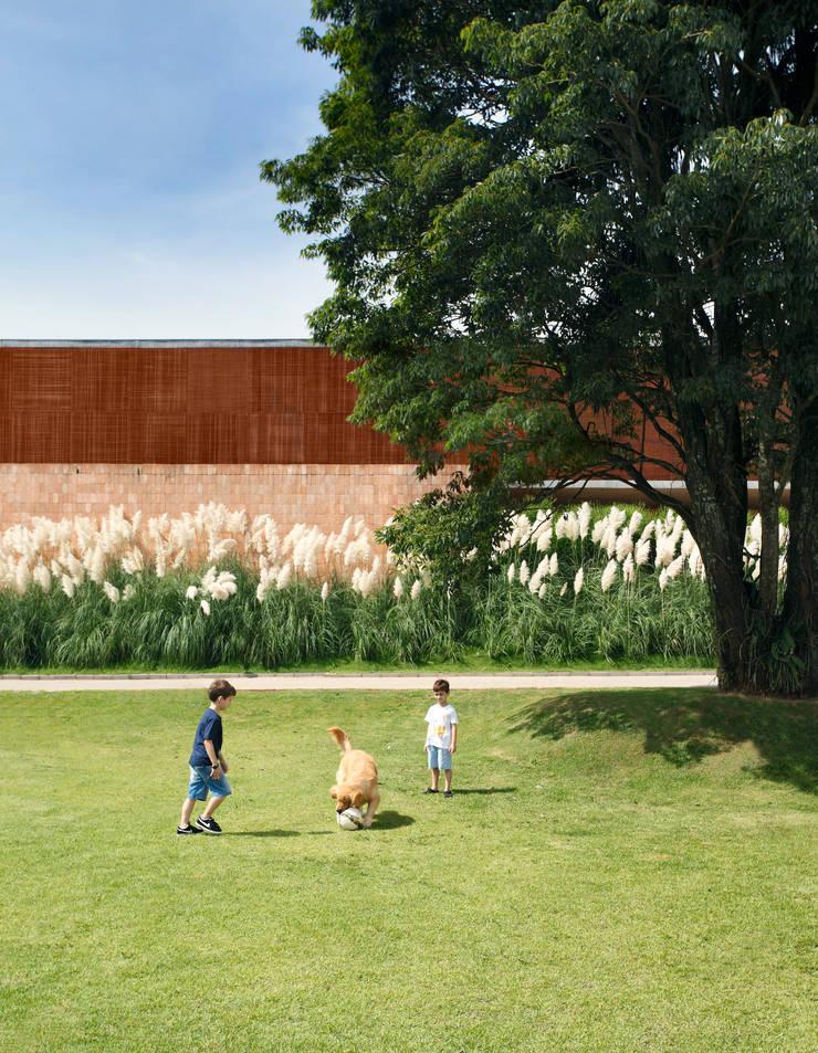 Jardim dos Pampas: Jardins  por Hanazaki Paisagismo