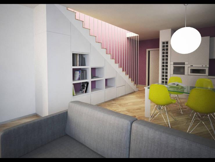 Casa DM: Case in stile  di gaia miacola, Moderno