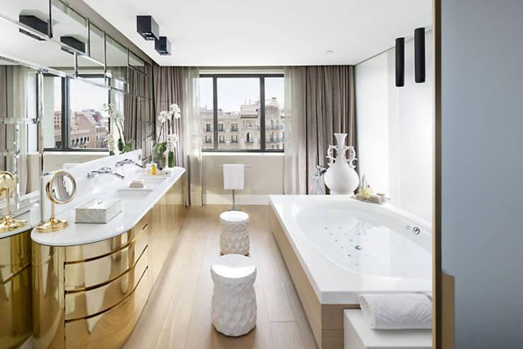 Diez ejemplos de lujo en el cuarto de baño