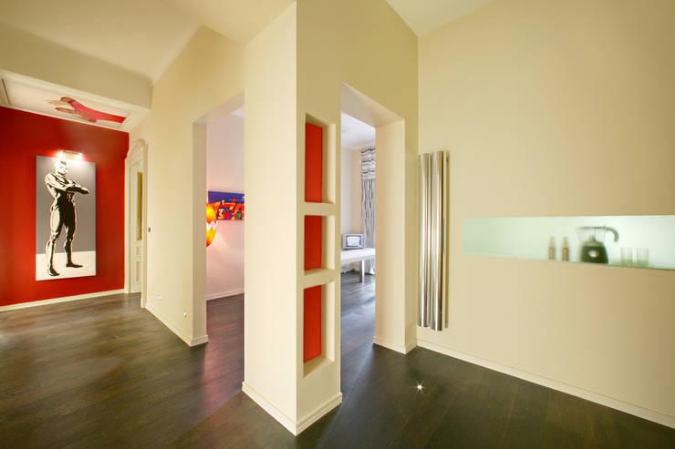CORSO MASSIMO D'AZEGLIO_2008:  in stile  di G*AA - Giaquinto Architetti Associati, Moderno