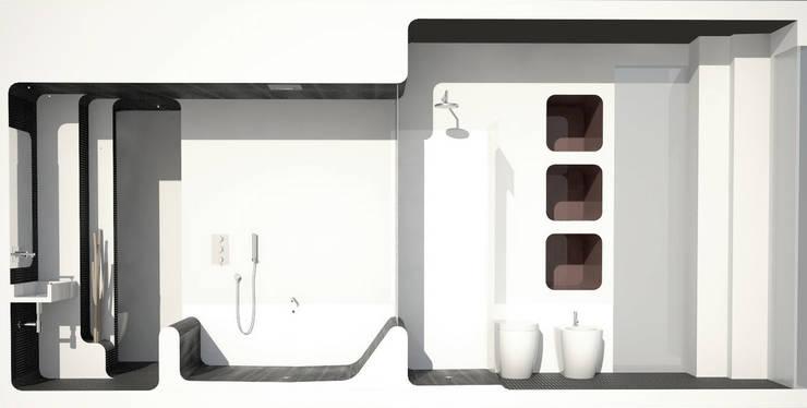Abitazione in zona fiera: Case in stile  di auge architetti