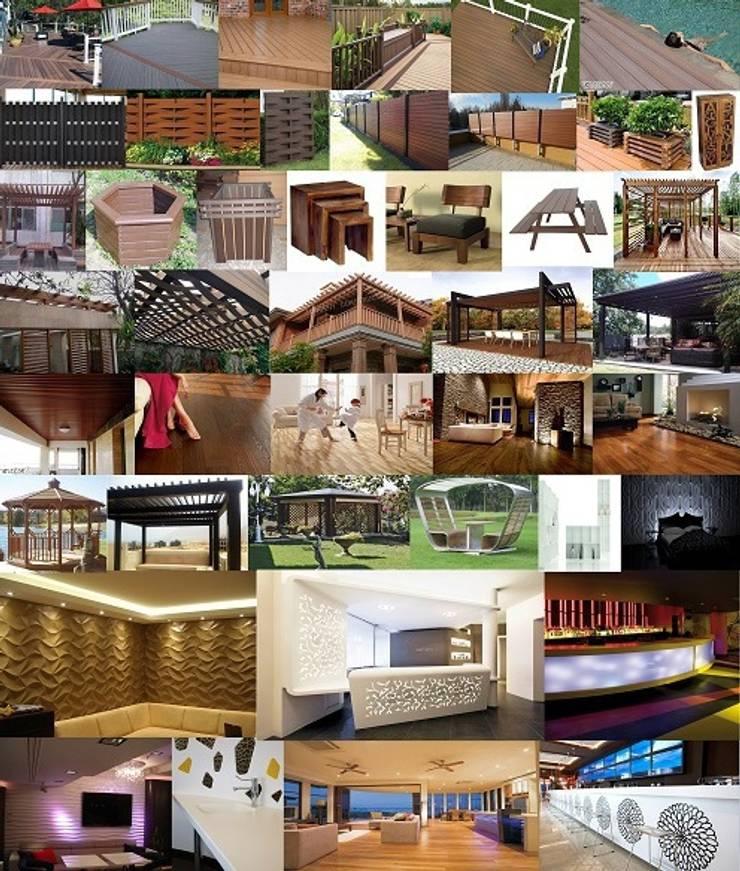 Wood Polymer Composites:  Walls & flooring by Wudzart