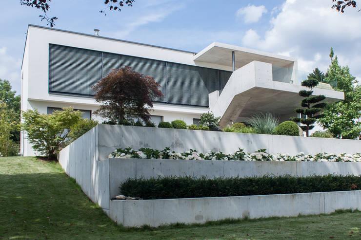 Casas de estilo moderno de herzog,kassel+partner