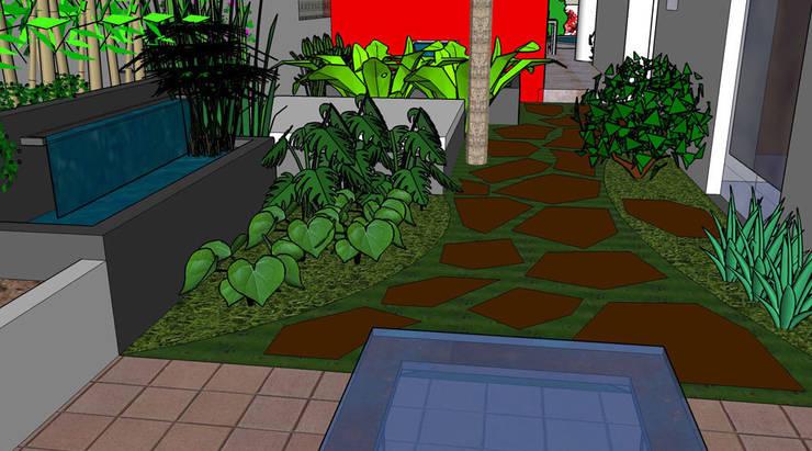 Visuel 2D: Jardin de style de style eclectique par Art d'Esprit
