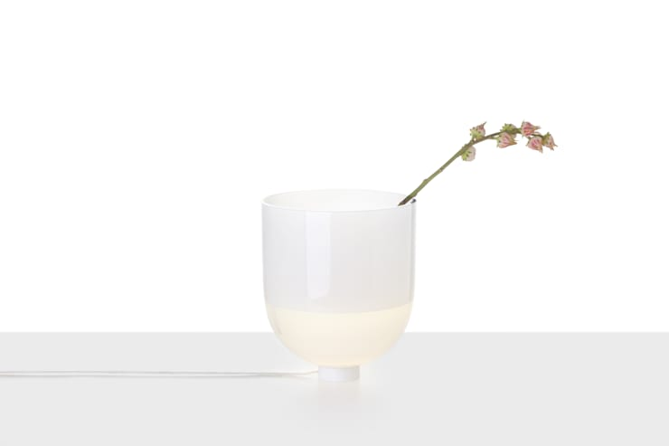 GLOWING VASE:  Interior landscaping by jakub