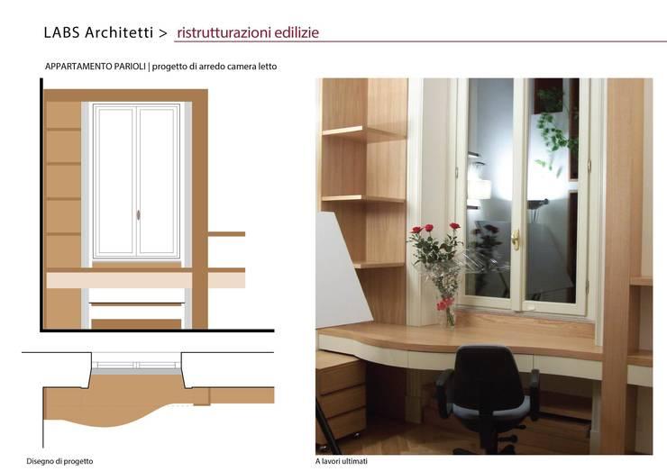 Appartamento Parioli:  in stile  di Labs architetti