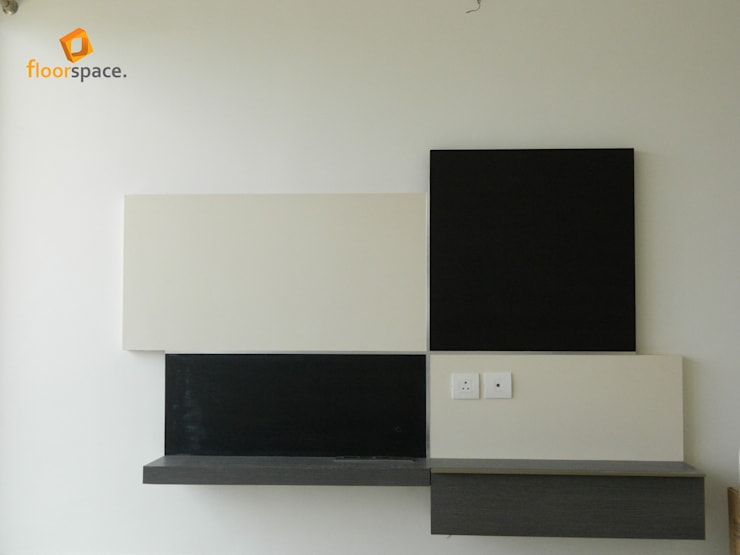 Project Tranquility - TV Unit:  Multimedia room by Floorspace