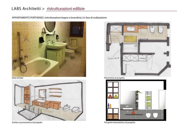 Appartamento Portuense:  in stile  di Labs architetti