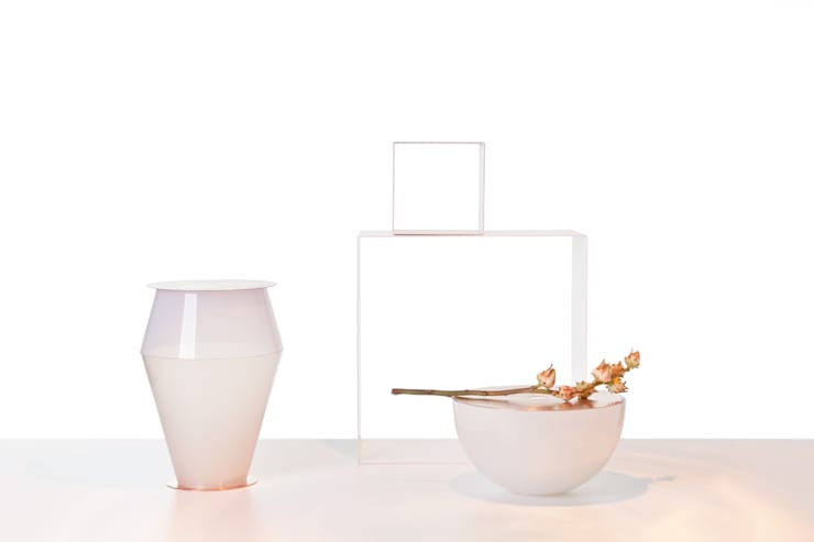 HOME ALTAR GLASS OBJECTS:  Interior landscaping by jakub