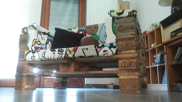 SE-RECYCLE eco design:  tarz Oturma Odası